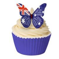 60 st ätbara fjärilar, Australien (20151101)