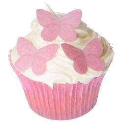 Pretty In Pink, 42 st ätbara fjärilar
