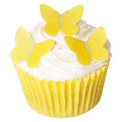 Sunny Yellow, 42 st ätbara fjärilar