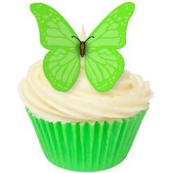 Summer Green, 12 st ätbara fjärilar