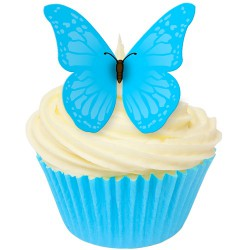 True Blue, 12 st ätbara fjärilar