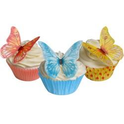 Butterflies, 12 st ätbara fjärilar