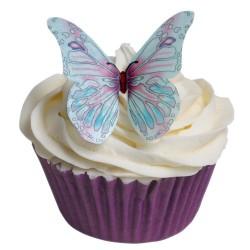Lavendel, 12 st ätbara fjärilar