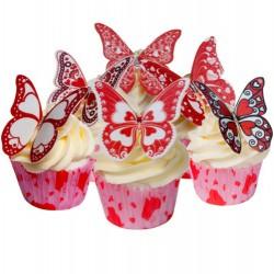Heartly Butterflies, 12 st ätbara fjärilar