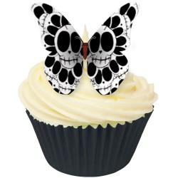 Skull, 12 st ätbara fjärilar
