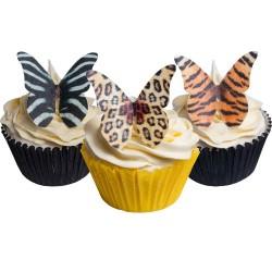 Jungle, 12 st ätbara fjärilar