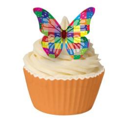 Harlequin, 12 st ätbara fjärilar