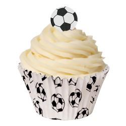 Fotboll, 24 st ätbara dekorationer