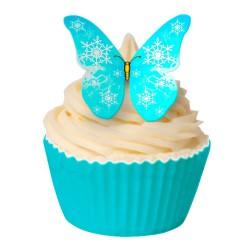 Snowflake, 12 st ätbara fjärilar