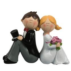 Brudpar, ljuv kärlek