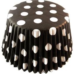 Black Dotty, ca 60 st muffinsformar