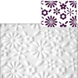 Blomsteräng, mönsterkavel
