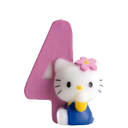 4, Hello Kitty-sifferljus