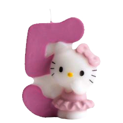 5, Hello Kitty-sifferljus