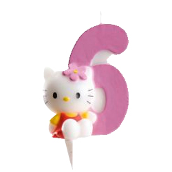 6, Hello Kitty-sifferljus