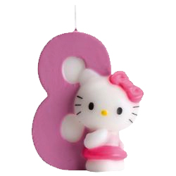 8, Hello Kitty-sifferljus