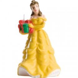 Belle, stort tårtljus