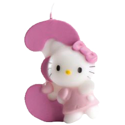 3, Hello Kitty-sifferljus