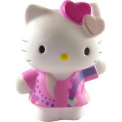 Hello Kitty med hjärtan, tårtdekoration
