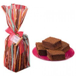 Gift Bag Kit, 6 st brownie-påsar