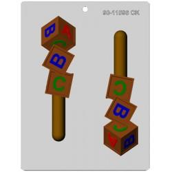 Byggklossar, chokladform