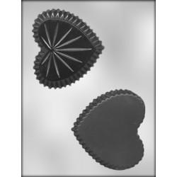 Hjärtformad ask, 3-D chokladform