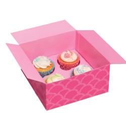 Cupcake ask, 100 st (rosa)