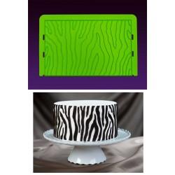 Zebra, silikonmatta (MM)
