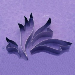 Stylised Leaves, 4 utstickare