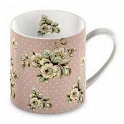 Katie Alice, mugg (pink flowers)