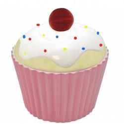 Cupcake, liten porslinsburk