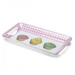 Cupcake, bricka med handtag