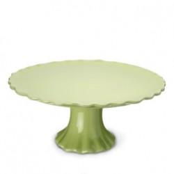 Tårtfat på fot, limegrön