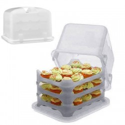 Cupcake Courier, transparent