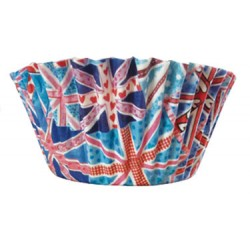 Union Flag, 50 st muffinsformar
