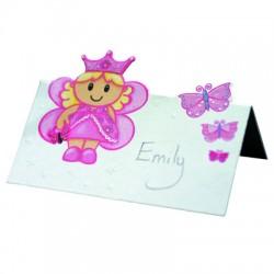 Prinsessa, 8 st placeringskort