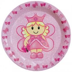 Prinsessa, 8 st tallrikar