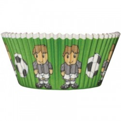 Fotbollsspelare, 50 st muffinsformar