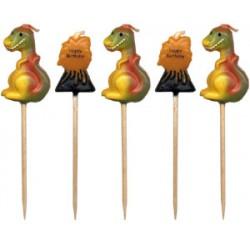 Dinosaurier, 5 st ljus