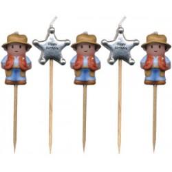 Sheriffer/Cowboys, 5 st ljus