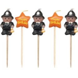 Poliser, 5 st ljus