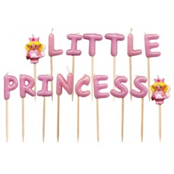 Little Princess, 16 st tårtljus