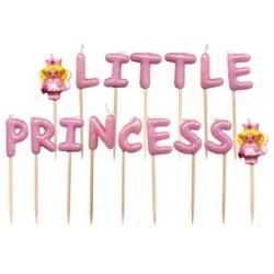 Little Princess, 16 st tårtljus
