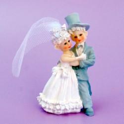 Brudpar, äldre stil