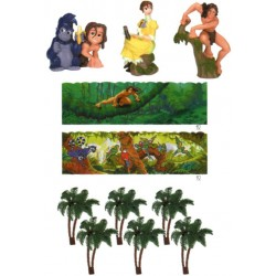Tarzan, dekorationspaket