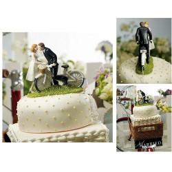Kärlekens cykel, brudpar