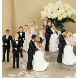 Brudgum, vit utan hår
