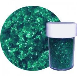 Glitter Flakes, grönt