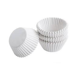 White, 100 st små muffinsformar