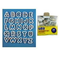 A-B-C, 26 st utstickare